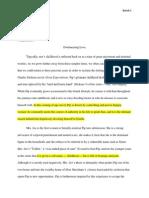 ge literary analysis essay