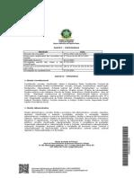 Edital Processo Seletivo JEF's 2013 - Anexos