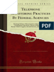 Telephone Monitoring Practices by Federal Agencies 1000879671