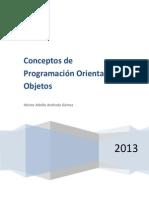 Programacion Orientada a Objetos