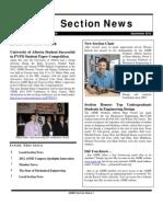 ASME Northern Alberta Fall 2012 Newsletter
