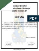 Certifica Do Eu 2011