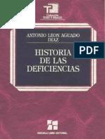 Historia de Las Deficiencias