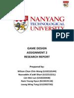 Game Design Assignment 2 Final Copy