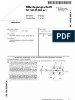 Scalar Wave Filter, Absorption von Skalarwellen, DE10005905A1