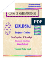 Cours Math Tl