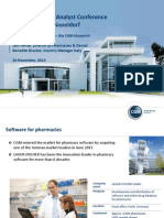 2013-11-20 MEDICA 2013 Feature Presentation Software for Pharmacies En