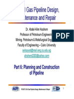 Part 6 Planning and Construction of Pipeline