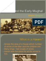 harem and the early mughal