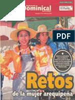 Retos de la Mujer Arequipeña, Patricia Salas