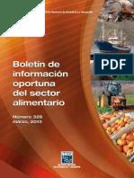 Sector Alimentario Marzo 2013