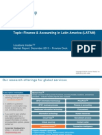 Finance & Accounting in Latin America