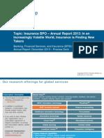 Insurance BPO - Annual Report 2013
