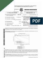 Baustoff zur Absorption von elektromagnetischer Strahlung, EMV Absorbermaterial Mörtel, WO_0213311_A1