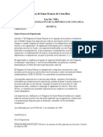 Ley 7210-Ley de Zonas Francas de Costa Rica