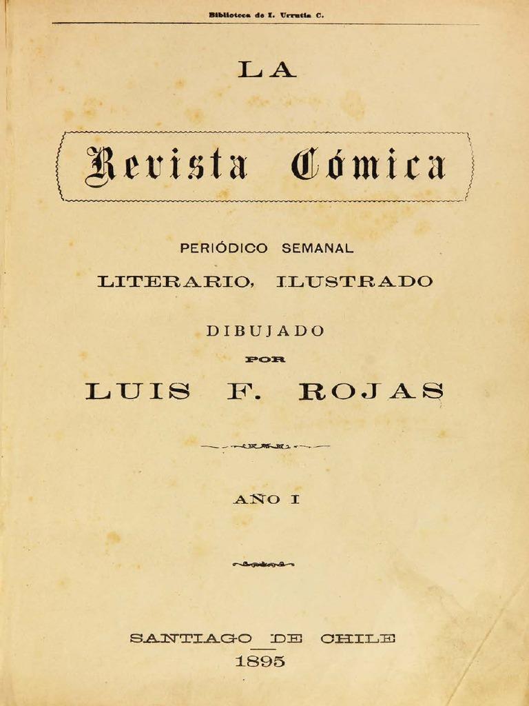 7a2ba0781d La Revista Cómica. Periódico semanal literario ilustrado. Año I. (1895)