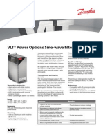 Sine Wave Filter Fact Sheet MO016A02