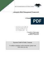 COSO Enterprise Risk Management Framework