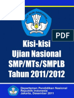 [Www.banksoal.web.Id] Kisi-Kisi Ujian Nasional SMP MTS SMPLB 2012