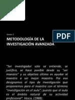 Metodologia Inv. Avan.
