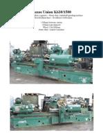Naxos Union K630-1500 Crankshaft Grinder Rettifica Alberi a Gomito PDF