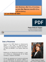 Cultura de Administración de Proyectos (Caso PMO-BCRD)