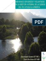 Combinando Esfuerzos Y Voluntades Para La Gestión Integral De La Cuenca Del Río Ayuquila-Armería