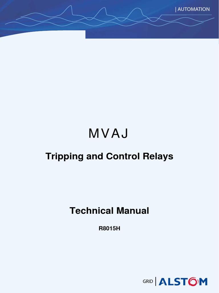 mvaj manual gb relay capacitor rh pt scribd com Relay Switch Wiring Diagram 4 Pin Relay Wiring Diagram