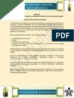 Actividad de Aprendizaje Unidad 3- Caracterizacion de Los Aceites Esenciales