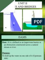 Unit II Dams, Bridges(1)