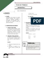 III Bim - 4to. año - Guía 5 - Conjuntos I