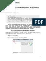 Belajar Perintah Dasar MikrotikOS Di VirtualBox