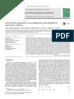 Electro-Fenton degradation of anti-inflammatory drug ibuprofen in
