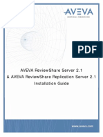 ReviewShare Server and ReviewShare Replication Server 2.1 Install Guide