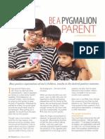 Be A Pygmalion Parent