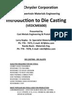 Casting die