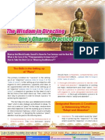Lake of Lotus (28)-The Application of Wisdom-The Wisdom in Directing One's Dharma Practice (28)-By Vajra Master Pema Lhadren-Dudjom Buddhist Association
