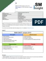 Bmw Swot Analysis
