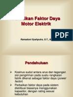 Materi_2_Perbaikan Faktor Daya Motor Elektrik