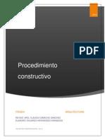 preparación del terreno y cimentaciones; Proceso constructivo