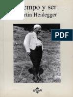 Heidegger, Martin - Tiempo y Ser (1)