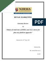 Retail Literature Review_121203