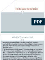 Ppt 1 Introduction to Econometrics