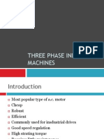 Three Phase Induction Machines