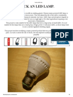 Hack an LED Lamp