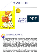 Union Budget 2009-10 Impact on FMCG Sector