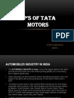 4P's OF TATA MOTORS