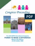 The XXVI BPW International Congerss Proceeding