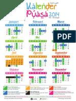 Kalender puasa 2014