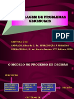 S022 ) Modelagem de Problemas Gerenciais